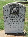 Image for Maude B. Allen - Oak Lawn Cemetery - Decatur, TX