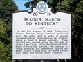 Image for Bragg's March to Kentucky 2C 16 - Cummingsville, TN