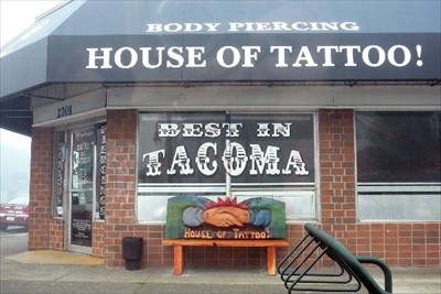 House of tattoo tacoma washington tattoo shops for Tattoo parlors in tacoma