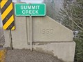 Image for Summit Creek Bridge - 1960 - Creston, BC
