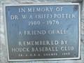 Image for Dr. W.A. (Biff) Potter - Niagara Falls, Ontario, Canada
