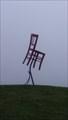 Image for La chaise rouge du rond-point de Rennes - Pouancé, Pays de Loire