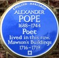 Image for Alexander Pope - Chiswick Lane South, London, UK