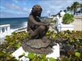 Image for Girl Playing a Flute - San Miguel de Cozumel, Quintana Roo, Mexico