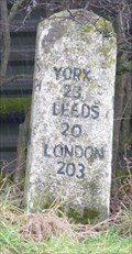 Image for Milestone - B6165, Pateley Bridge Road, Ripley, Yorkshire, UK.