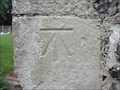 Image for Cut Bench Mark on St. Marys Church, Tarring Neville, Sussex.