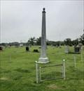 Image for Greenwood Cemetery Obelisk - Franklin, NE