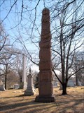 Image for Page Monument - Bellefontaine Cemetery - St. Louis, Missouri