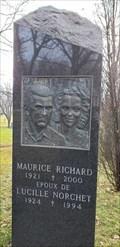 Image for Maurice «Rocket» Richard et Lucille Norchet - Notre-Dame-des-Neiges - Montreal, Qc
