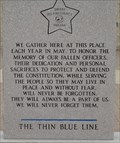 Image for The Thin Blue Line
