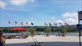 Image for Eleven flags at the rhine promenade Remagen, RP, Germany