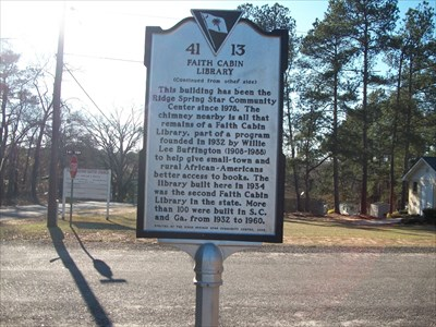 Side two of historical marker