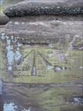 Image for Cut mark on the Tower of St.Nicholas' Church, Abotts Bromley, Staffordshire.