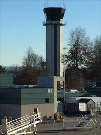 Control Tower from Inside, Eugene, Oregon