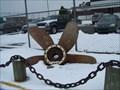 Image for Coast Guard Ship Screw Display - Belle Isle, Michigan