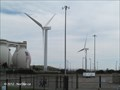 Image for Trio of Wind Turbines at Deer Island - Boston, MA