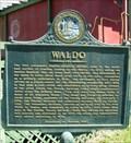Image for Waldo Historical Marker - Waldo, FL