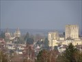 Image for vue de Loches depuis la colline, Loches, France