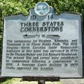 Image for Three States Cornerstone Historical Marker - Cumberland Gap, TN