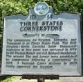 Image for Three States Cornerstone Historical Marker - Cumberland Gap, TN