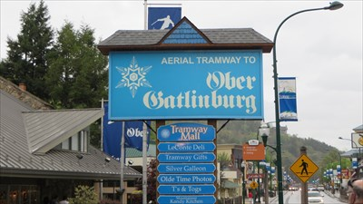 veritas vita visited Ober Gatlinburg Aerial Tram Lower Station