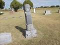 Image for Walter Lee Baker - Amber Cemetery - Amber, OK