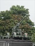 Image for 3.7in Heavy Anti-Aircraft Gun, New Cut Road, Swansea, Glamorgan, Wales, UK