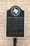 Image for FIRST - Church Bell in Canadian, Texas