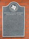 Image for Houston Cotton Exchange and Board of Trade