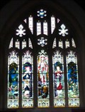 Image for Stained Glass Window - St Mary's, Wallington, Herts.