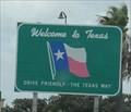 "Image for ""Drive Friendly -- the Texas Way"" -- Hidalgo TX"