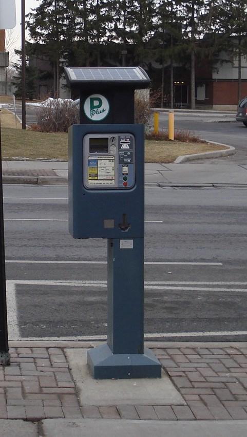 Google Solar Map >> Solar Powered Parking Meter - Oshawa, Ontario, Canada ...