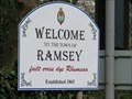 Image for Welcome Sign A2 Ballure Road - Ramsey, Isle of Man