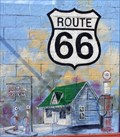 Image for Historic Route 66 - Welcome to Davenport - Oklahoma, USA.