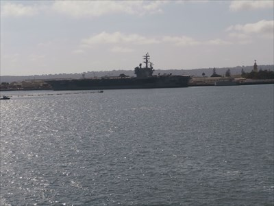 Coronado Bay From the USS Midway
