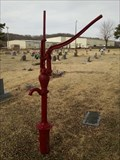 Image for Hand-Operated Pump at Peace Valley Cemetery - Anderson, MO