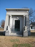 Image for Tate Mausoleum - Bellefontaine Cemetery - St. Louis, Missouri