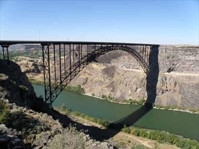 Ib Perrine Bridge Twin Falls Idaho Arch Bridges On Waymarkingcom