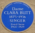 Image for Dame Clara Butt - Harley Road, London, UK