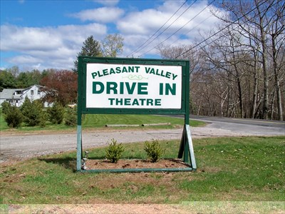 pleasant valley drive in theatre pleasant valley ct drive in movie theaters on. Black Bedroom Furniture Sets. Home Design Ideas