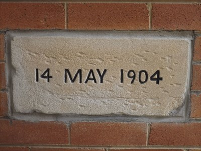 The Foundation Stone for the St Alban's Hall.1208, Sunday, 4 February, 2018