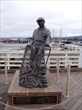 Image for Fisherman Statue - Fishermans Wharf - Monterey, California