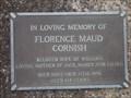 Image for 104 - Florence M Cornish, Cooranbong, NSW, Australia