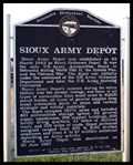 Image for Sioux Army Depot Historical Marker