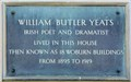 Image for William Butler Yeats - Woburn Walk, London, UK