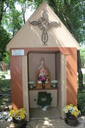 Image for Schoenstatt Wayside Shrine -- St. Ann Catholic Church, Coppell TX