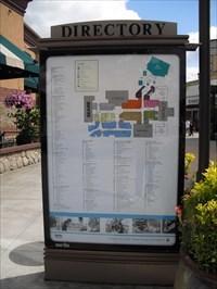 Alderwood Mall Outdoor Map Near Macaroni Grill   Lynnwood, WA
