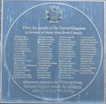 Image for Plaque Honouring the 70 Canadians Awarded the Victoria Cross during the First World War - Ottawa, Ontario