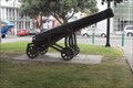 Image for An old naval cannon, Marine Parade, Napier, Hawke's Bay, New Zealand.