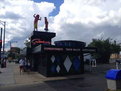 Superdawg drive-in, Chicago, IL